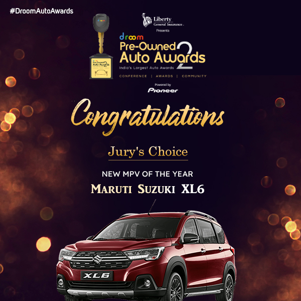 Maruti Suzuki XL6- New MPV of the year