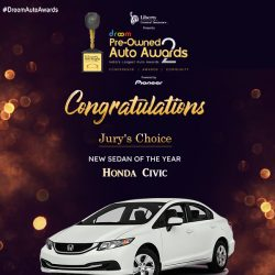 Honda Civic- New Sedan of the year