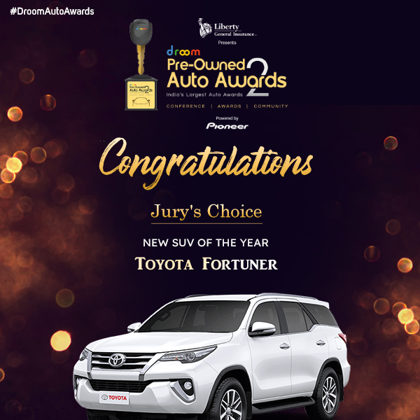 Toyota Fortuner- New SUV of the Year