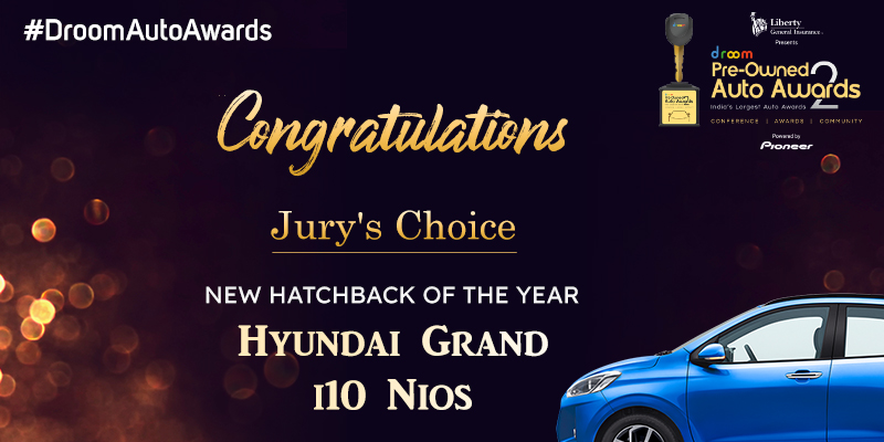 Hyundai Grand i10 Nios- New Hatchback of the Year