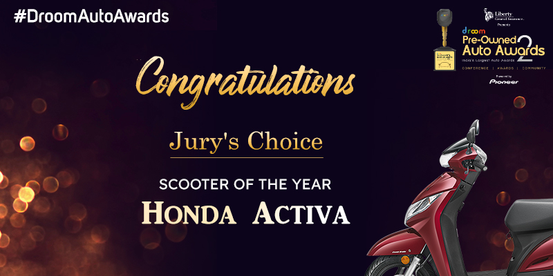 Honda Activa - Pre-Owned Scooter of the Year