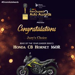 Jury choice bike of the year - Droom Auto Awards