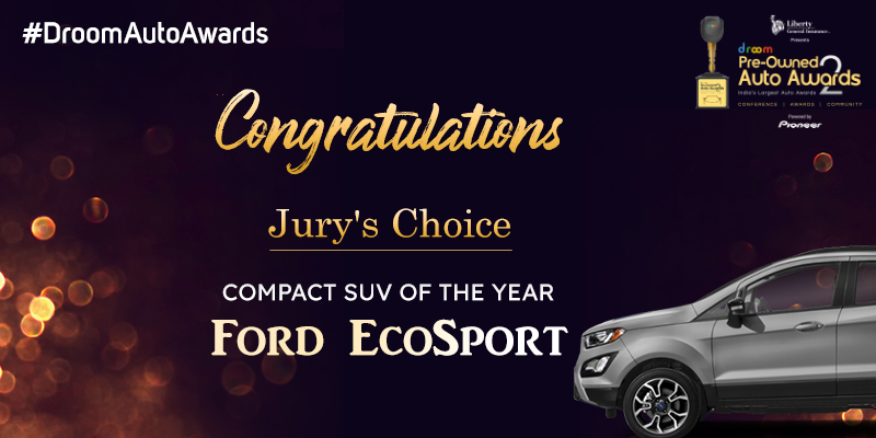 Ford Ecosport - Compact SUV of the Year