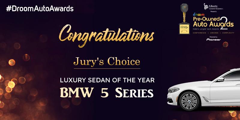 BMW 5 Series -Pre-Owned Luxury Sedan of the Year