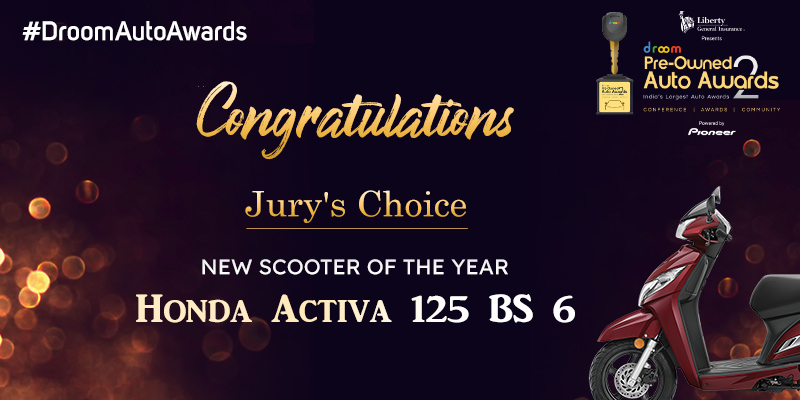 Honda Activa 125 BS 6-New Scooter of the year