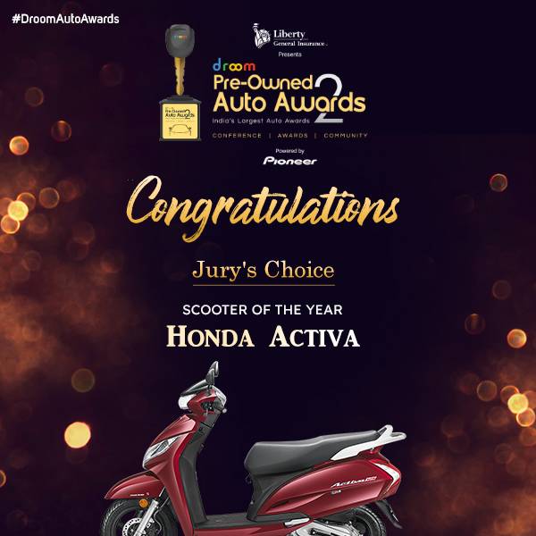 Honda Activa - Jury choice_scooter of the year