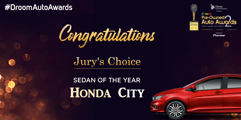 Honda City -Pre-Owned Sedan of the Year