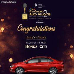 Honda City -Pre-Owned Sedan of the Year