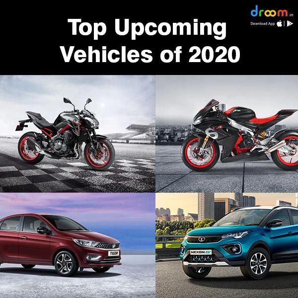 upcoming vehicles of 2020