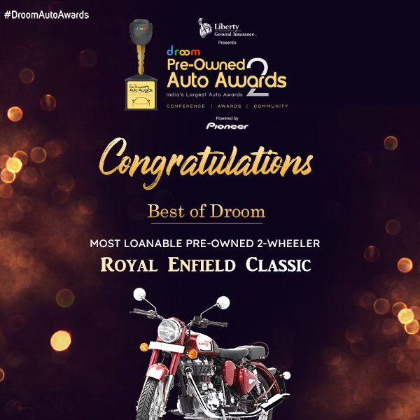 Royal Enfield Classic - Best of droom_2 wheeler