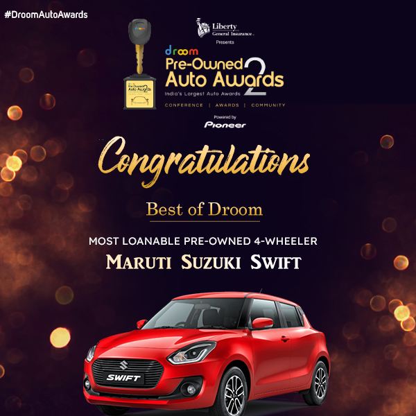 Maruti Suzuki Swift - Best of droom_4 wheeler