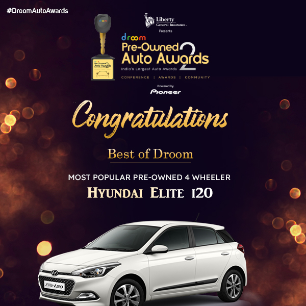 Hyundai Elite i20 - Best of droom_Most popular 4 wheeler