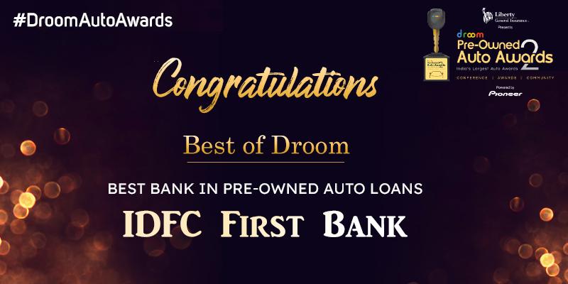 IDFC Bank - Best of droom_best bank
