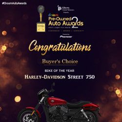 Harley Davidson - Buyer choice_bike of the year