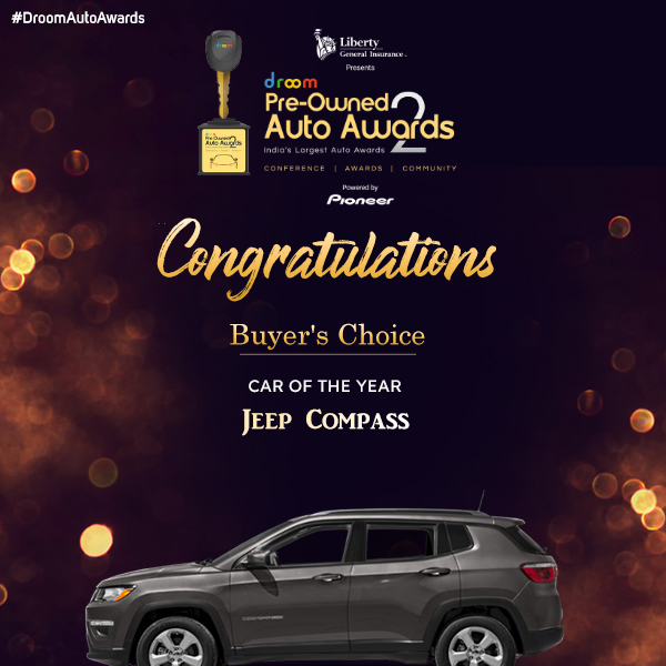 Jeep Compass - Buyer choice_car of the year
