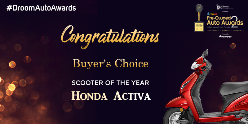 Honda Activa - Buyer choice_scooter of the year