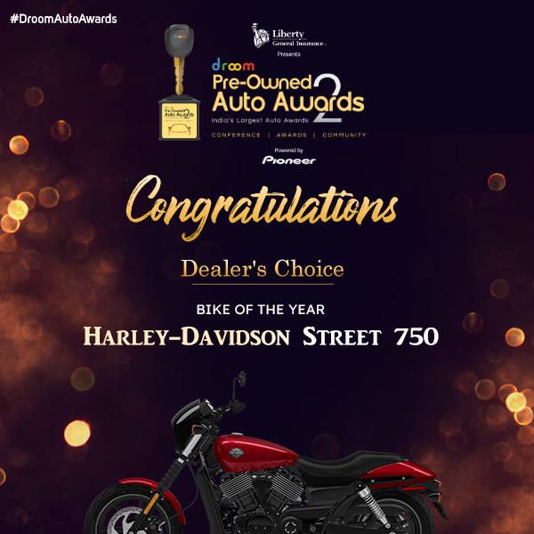 Harley Davidson - Dealer Choice_ bike of the year