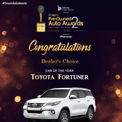 Toyota Fortuner - Dealers Choice_ car of the year