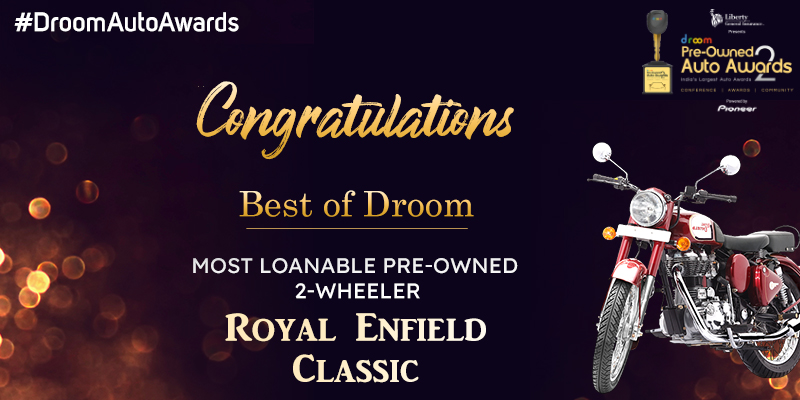 Royal Enfield Classic - Best of droom_ 2 wheelers