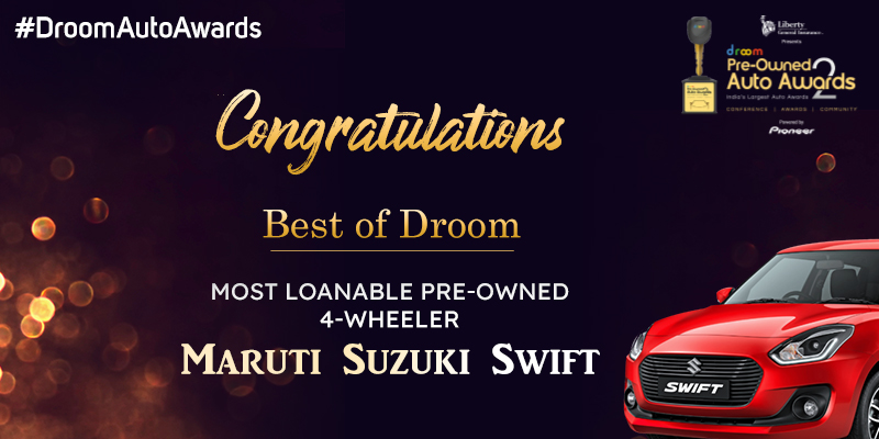 Maruti Suzuki Swift- best of droom_4 wheeler
