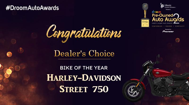 Harley Davidson - Dealer choice_bike of the year