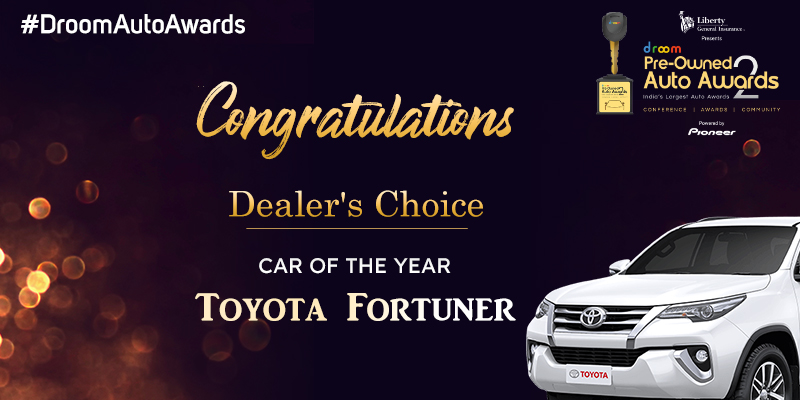 Toyota Fortuner - Dealers choice_car of the year