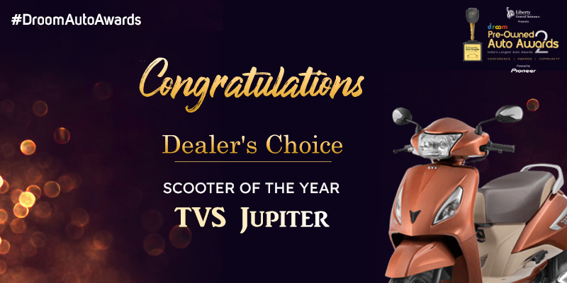 TVS Jupiter - dealer choice_scooter of the year