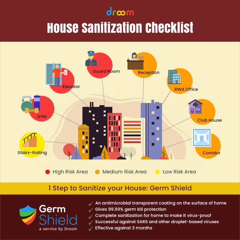 How to sanitize your house