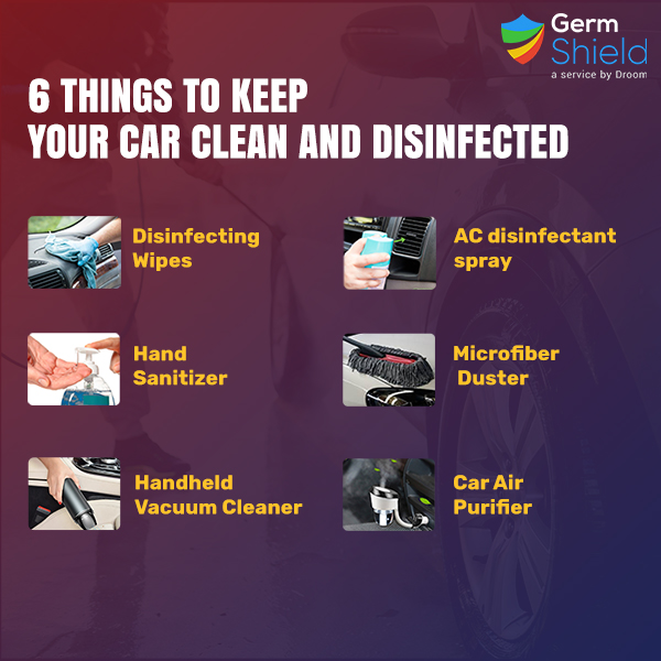 Keep Your Car Clean and Disinfected from Germ