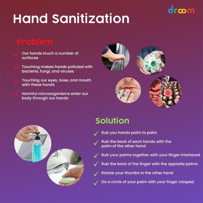 hand sanitization