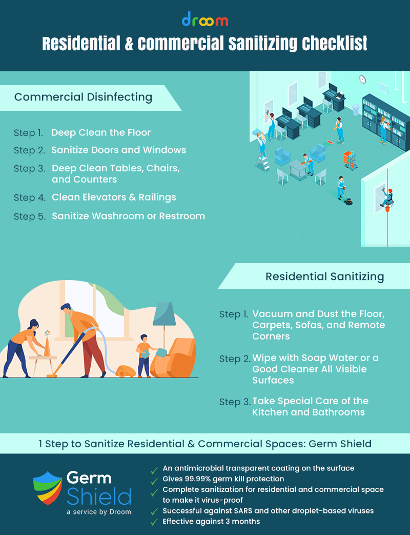 residential sanitizing services