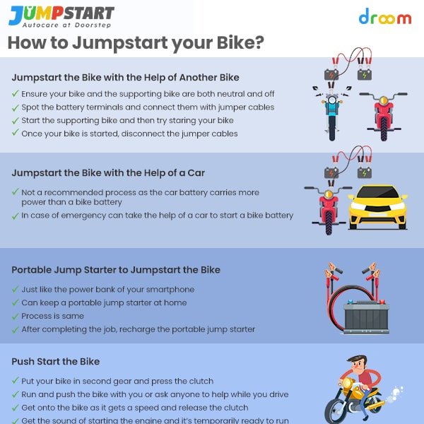 How to jumpstart your bike