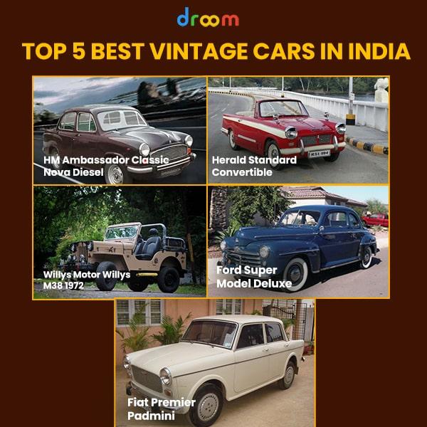 5 best vintage cars