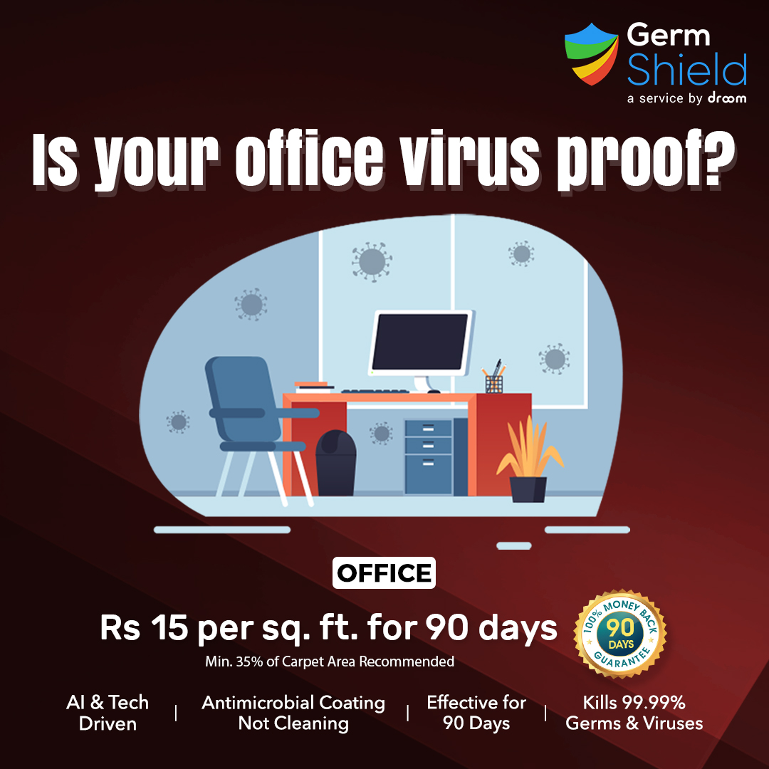 antimicrobial coating for office employees