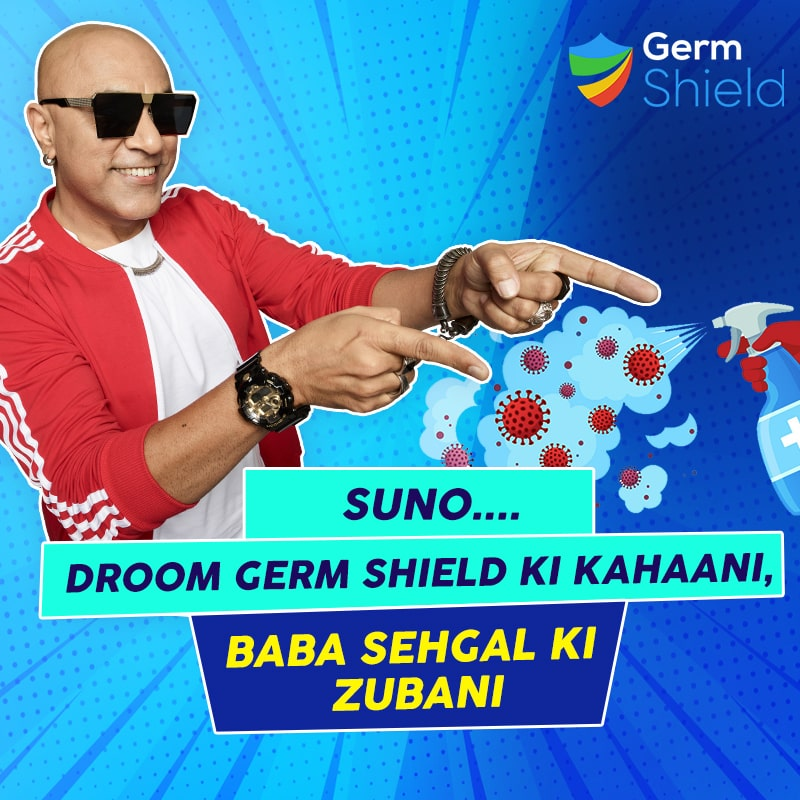 baba sehgal and germ shield
