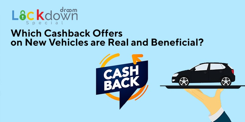 Cashback offers on new vehicles