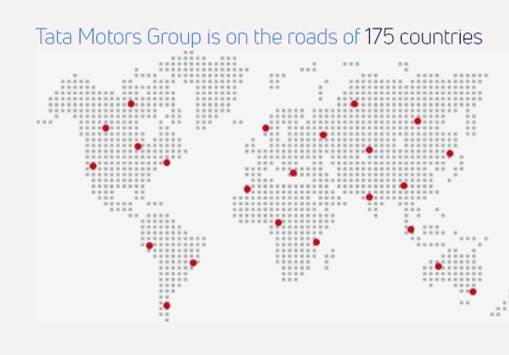 Tata Motors Global presence