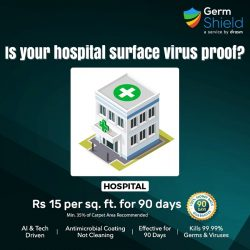 antimicrobial treatment for hospital