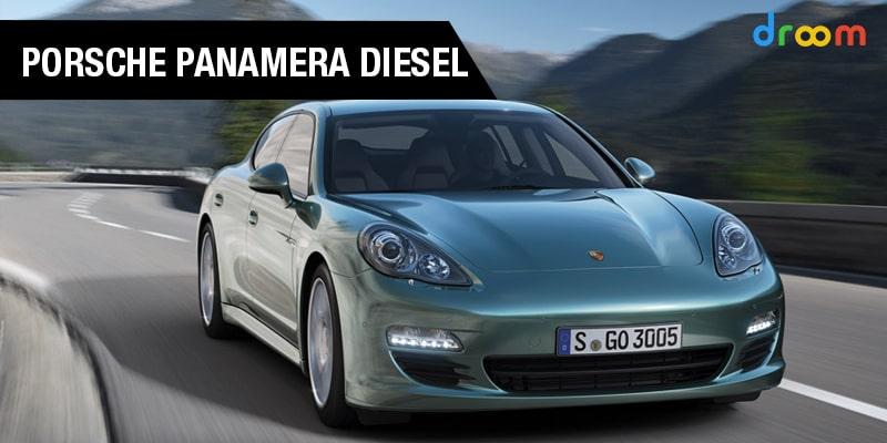 Porsche Panamera Diesel Car