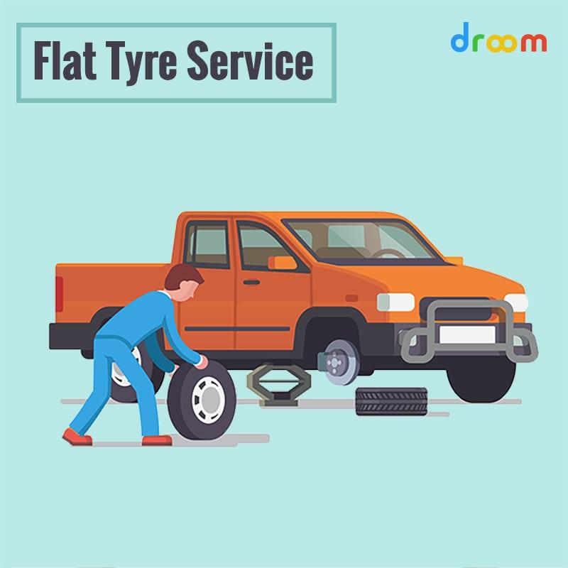 flat tyre service
