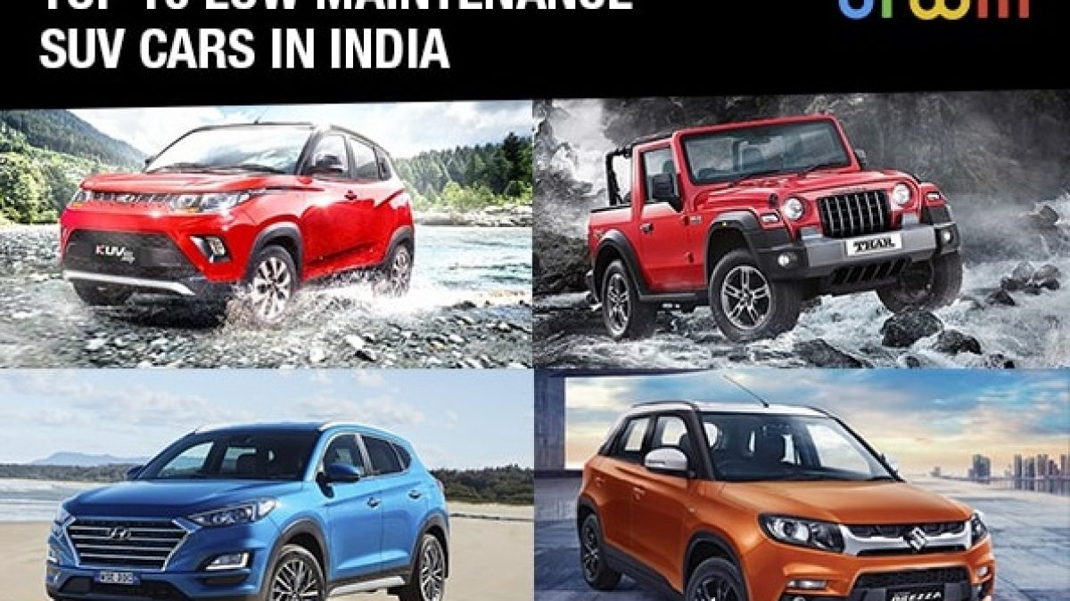 Top 10 Low Maintenance Suv Cars In India 2021 Droom