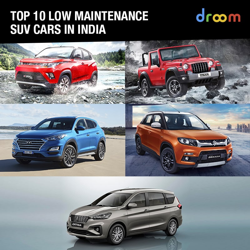 low maintenance SUV cars