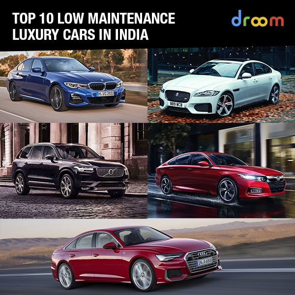 luxury low maintenance cars