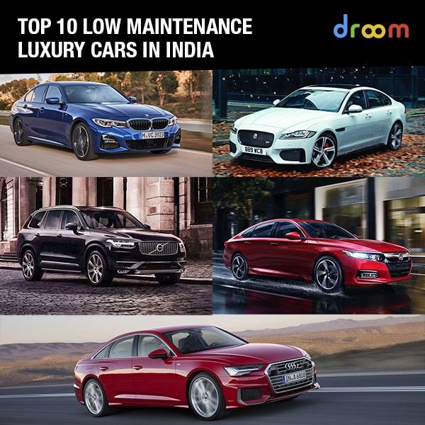 luxury low maintenance cars
