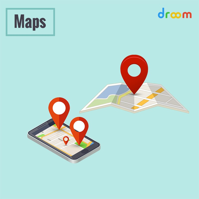 map in road trip