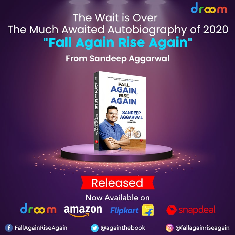 fall again rise again launched