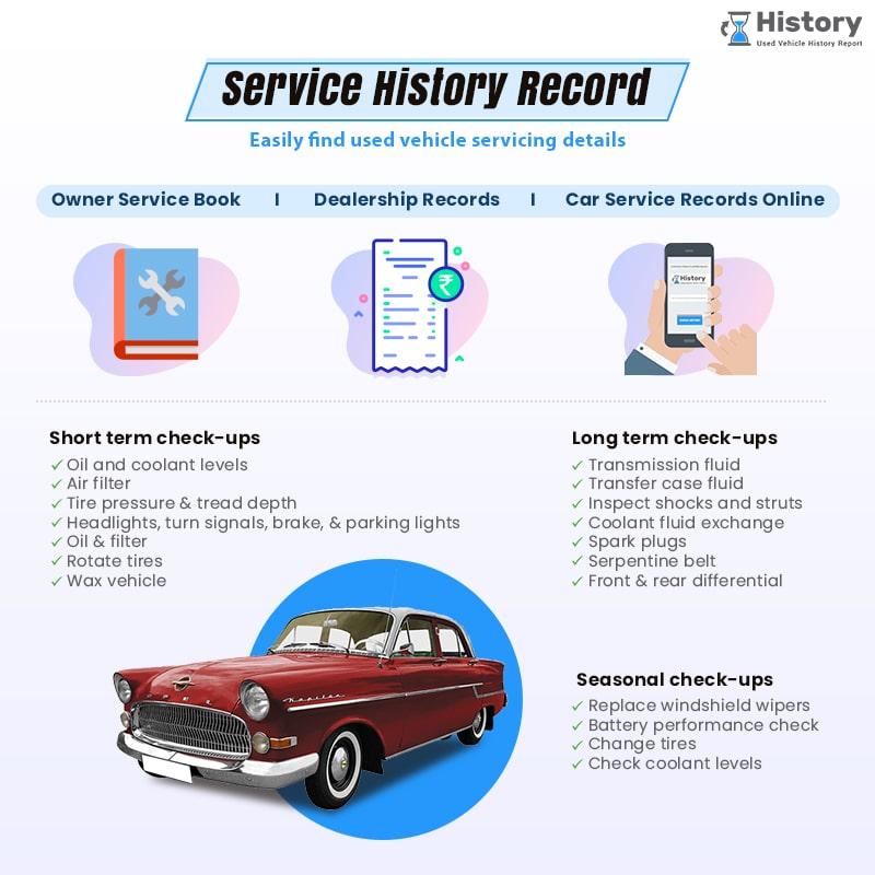 Check Vehicle Service Records