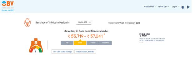 jewellary price calculator