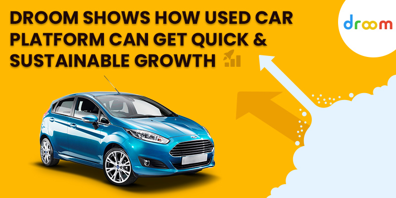 used car platform growth in india