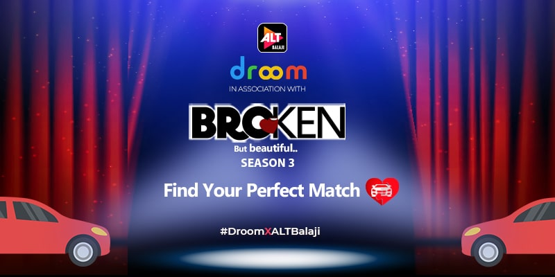 Droom Associates with Alt Balaji
